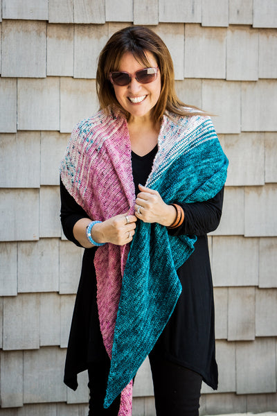 Amsterdam Crochet Your Fade Shawl by Michele Costa