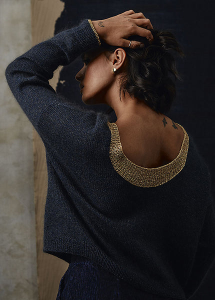 Artemis Sweater von Esther Romo, Pom Pom Quarterly 26 - The Moon Issue