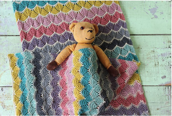 Knit Happens Babydecke Stricken Wollen Berlin
