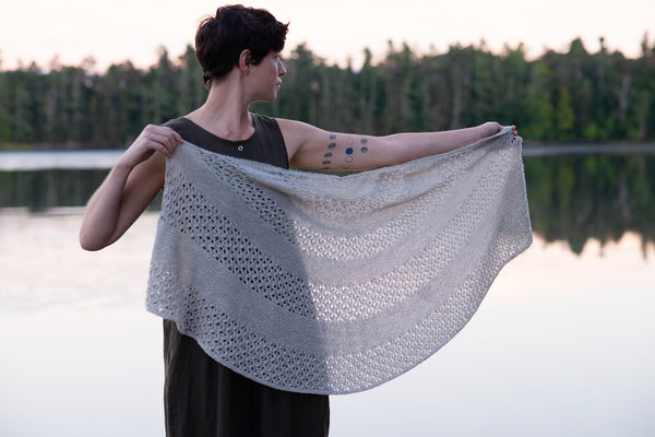 Seaside Shawl by Carrie Bostick Hoge