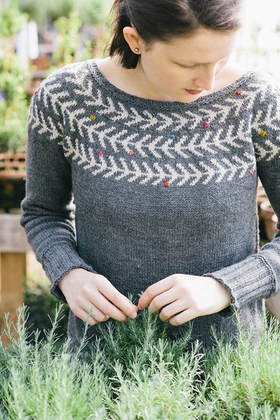 Branches & Buds Pullover by Carrie Bostick Hoge