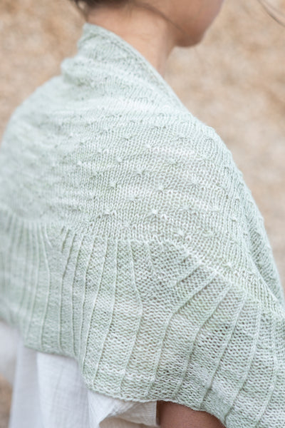 Xerophyte Shawl by Amy van de Laar