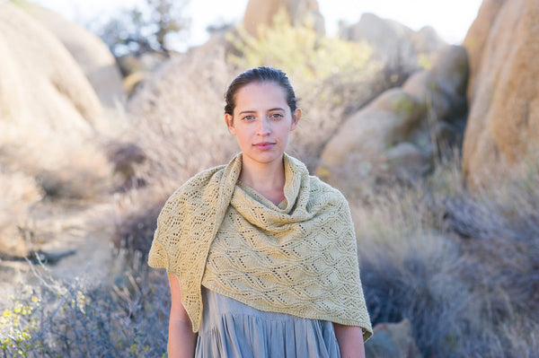 Yardang Shawl by Bristol Ivy