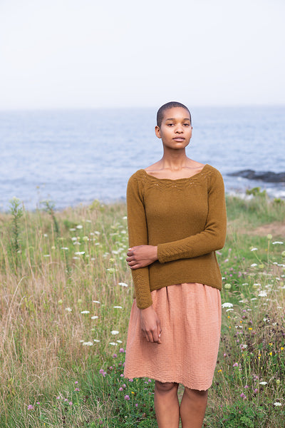 Fleur Pullover by Carrie Bostick Hoge
