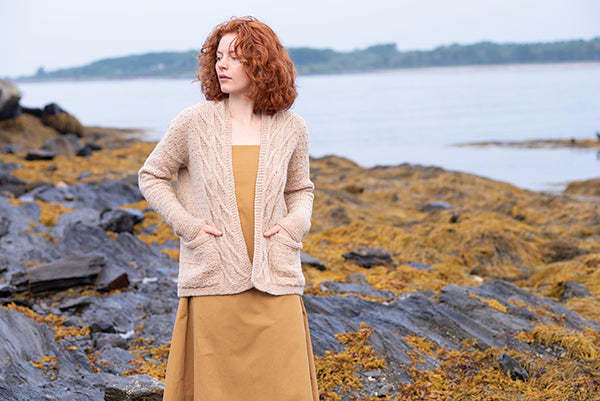 Sea Sand Cardigan by Carrie Bostick Hoge