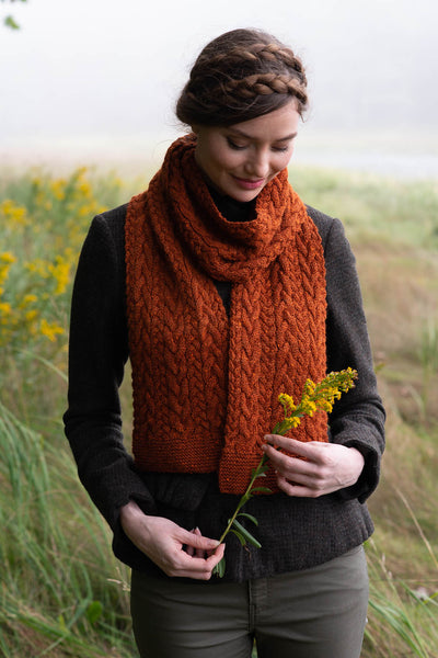Liesl Scarf by Carrie Bostick Hoge