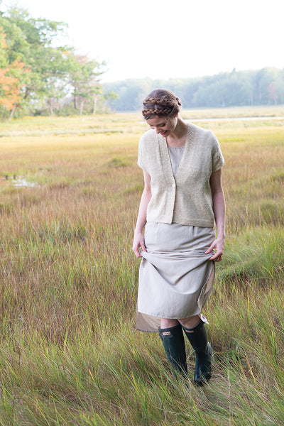 Cloudy Day Cardi, Light by Carrie Bostick Hoge