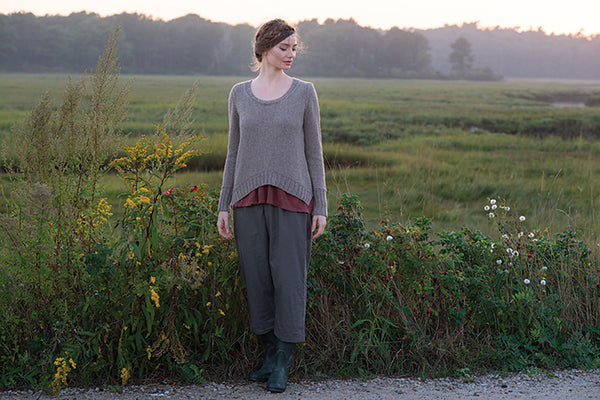 Preserve Pullover by Carrie Bostick Hoge