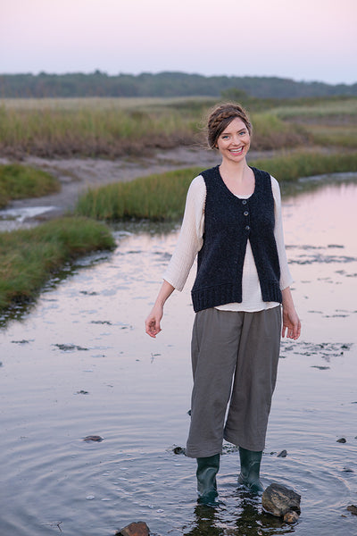 Autumn Shoreline Vest by Carrie Bostick Hoge