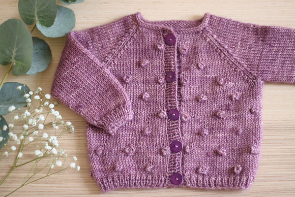 Noisette Cardigan by Anna Dervout