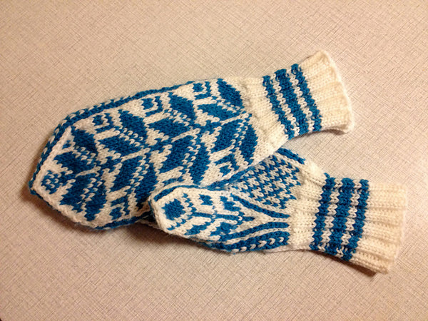Norwegian Mittens for Mimi by Anna Mazzarella