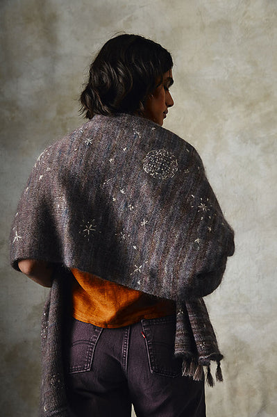 Sky Map Shawl von Emily Foden, Pom Pom Quarterly 26 - The Moon Issue