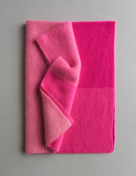 Cashmere Ombré Blanket by Purl Soho