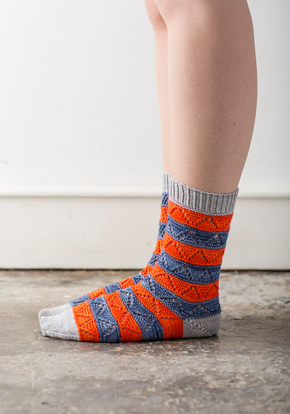 Mixalot Socks by Rachel Coopey
