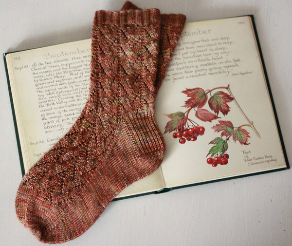 Cozy Autumn Socks by This Handmade Life