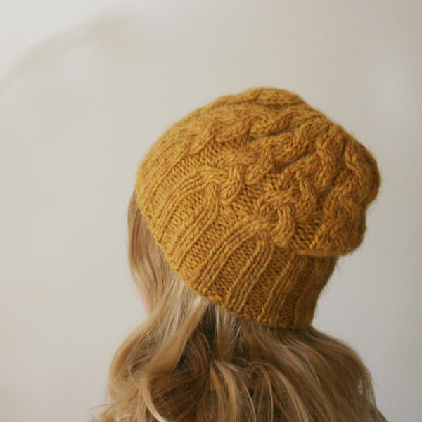 Lopi braided hat and mittens by Halldora J