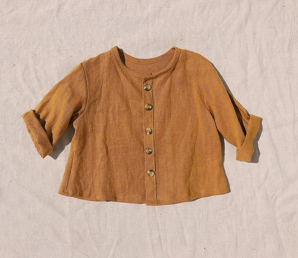 Baby Linen Shirt Jacket by Tiny Design Co.