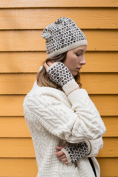 Arctic Owl Hat and Mitts by Amy Christoffers