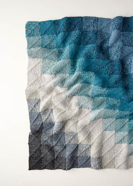 Mitered Corner Blanket by Purl Soho