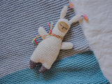 Babydecke April - Strickpaket