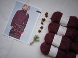 Halbpatentpullover - Tiril 10 -  Strickpaket