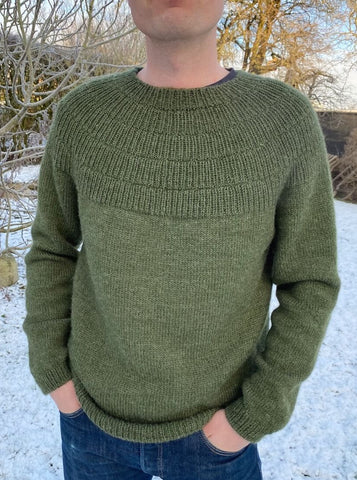 Ankers Pullover- My Boyfriend´s size - Strickpaket