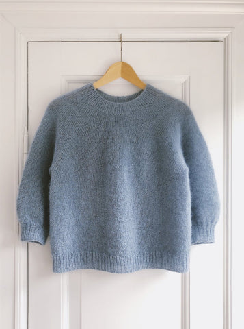 Novice Sweater - Mohair Edition - Strickpaket