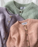 Novice Cardigan - Mohair Edition - Strickpaket