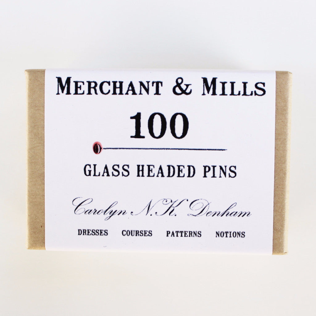 Glass Headed Pins 100