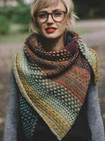 Nightshift Shawl - Original Farben - Strickpaket