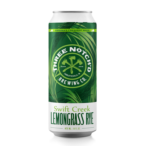 Swift Creek - Lemongrass Rye