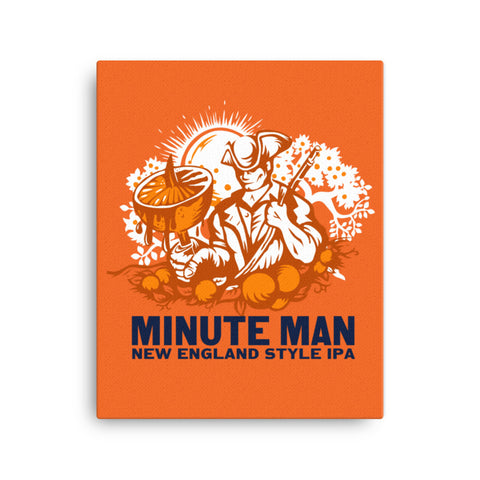 Minute Man Canvas - Wall Art