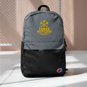 Three Notch'd Embroidered Champion Backpack