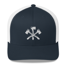 Load image into Gallery viewer, Three Notch'd Axes - Trucker Cap