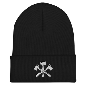Three Notch'd Axes - Cuffed Beanie