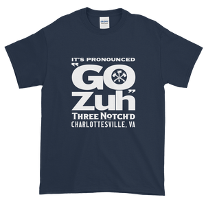 Men's Navy Gozuh Short-Sleeve T-Shirt (Up to 5xl)