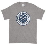 3NB Badge Short-Sleeve T-Shirt (up to 5xl)