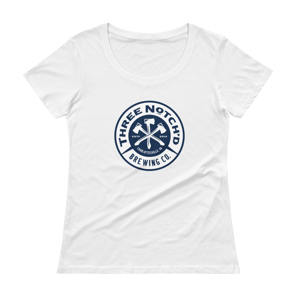 Original 3NB Badge Ladies' Scoopneck Tee