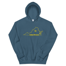 Load image into Gallery viewer, State of Virginia Cville Axes Unisex Hoodie