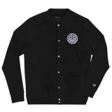 Three Notch'd Embroidered Champion Bomber Jacket