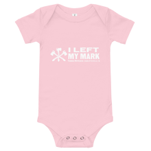 Load image into Gallery viewer, #MarkLeft Baby Onesie