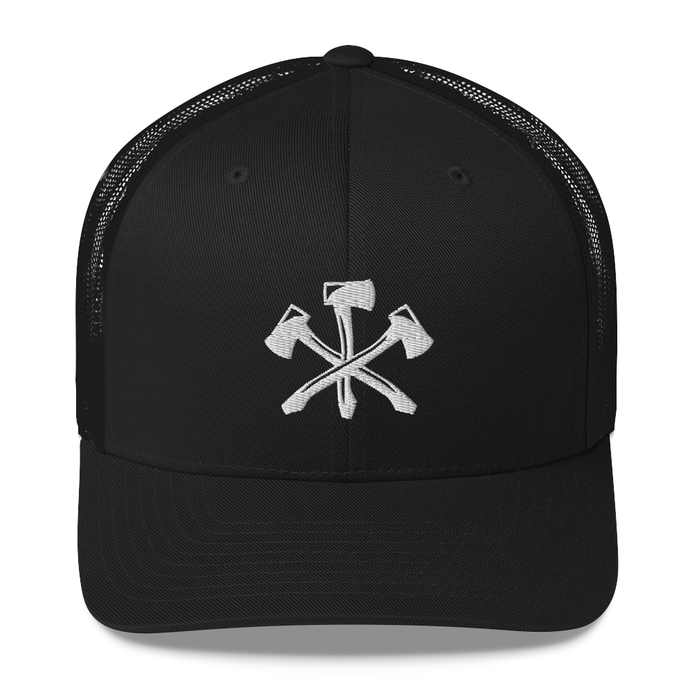 Three Notch'd Axes - Trucker Cap
