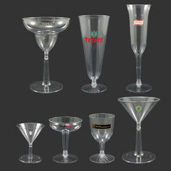 Clear Plastic Bar Cups