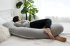 U-Shape Pregnancy Pillow - Grey