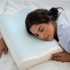 Contour Memory Foam Pillow with Cooling Gel