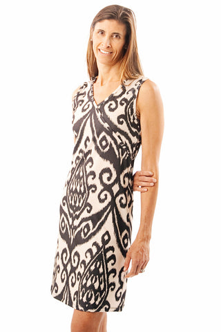 Best Dress- Ikat; sleeveless