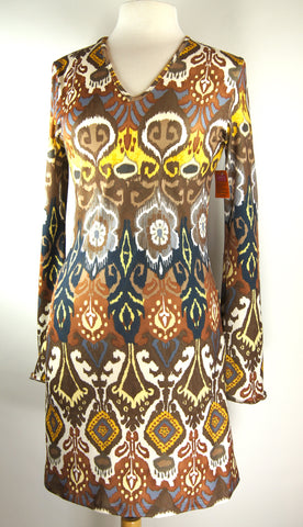 Bell Sleeve Dress/Tunic- Berber