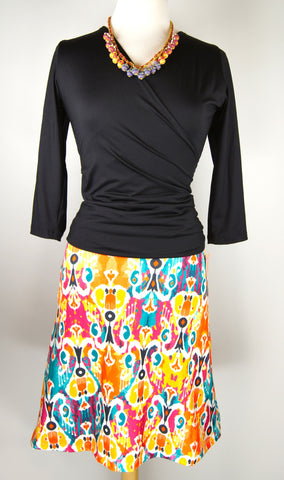 SimpleSkirt in Ethnic Orange