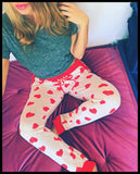 Valentine Heart Jogger Leggings