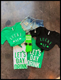 St Patricks Day V-Neck Tshirts- Avail In 4 Styles